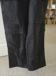 Lower pockets prior to removal.